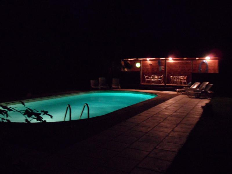 The pool by night is so appealing
