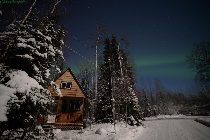Northern Lights on our property - 2015