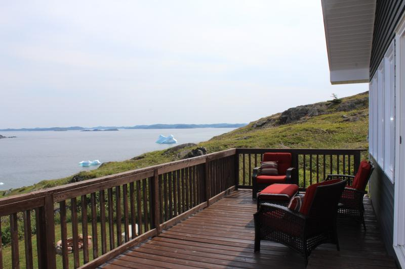 View Icebergs from the front deck!
