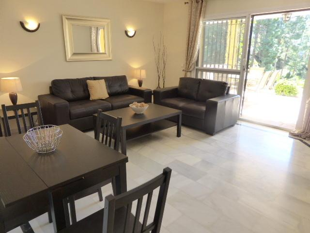 Light & airy lounge with direct terrace access