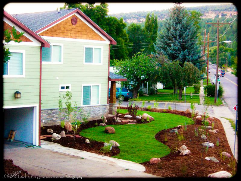 Studio Over Garage, 2008. Much larger/mature landscaping now.