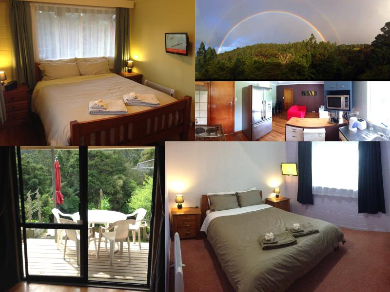a NATURE RETREAT near the city. Two bedroom, self-contained, self-catering apartment.