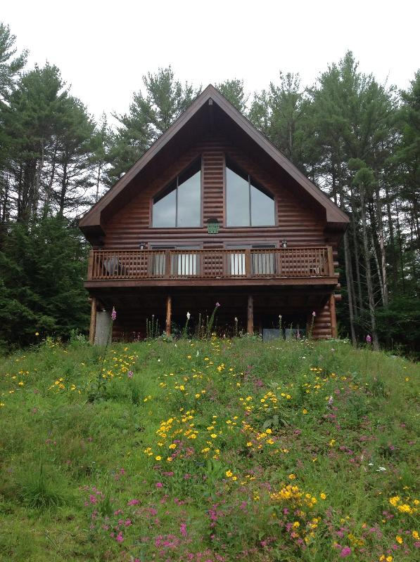 Green Chalet at Tripp Lake - a Lincoln Log home built in 2008