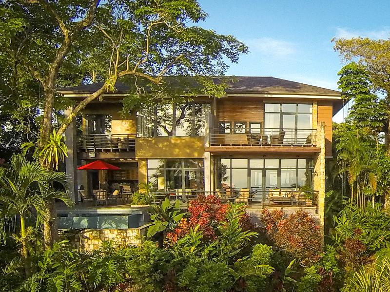 Full Ocean-View Home with Floor to Ceiling Windows for Optimizing Sunset & Ocean Views
