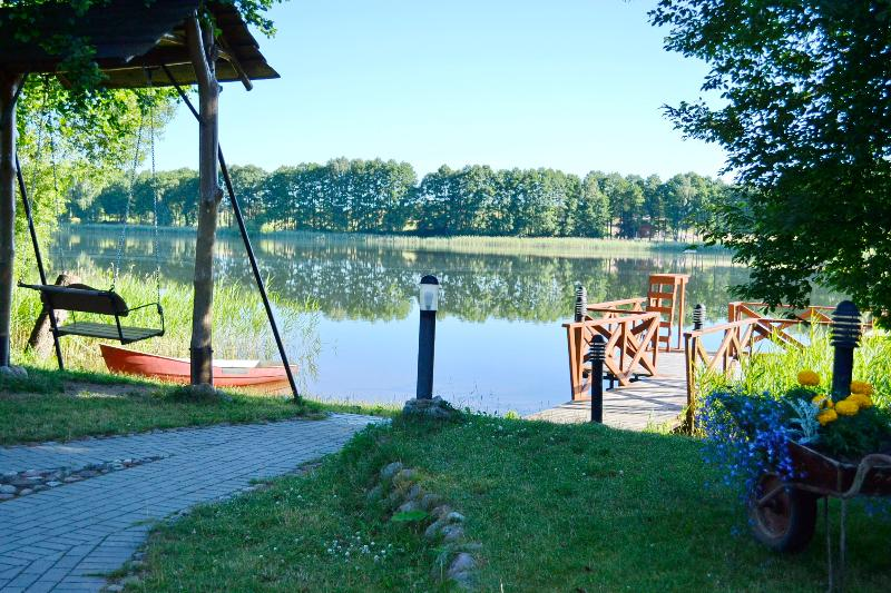 Vila Magdalena on Lake Margis