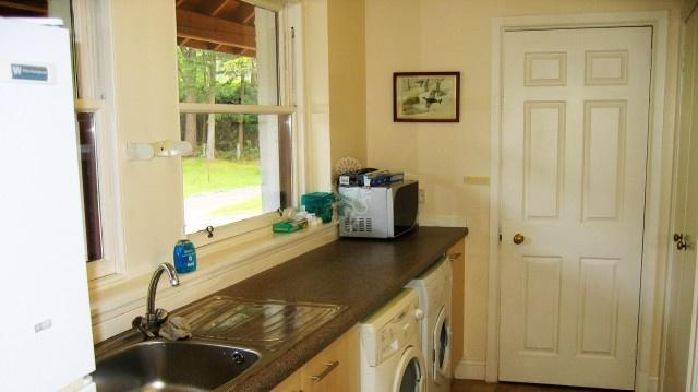 The additional utility room may come in handy for storing food and other provisions