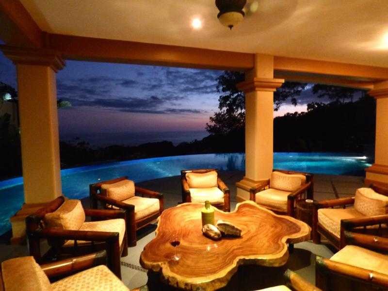 Sit and relax, enjoy the view of the tropical sunset