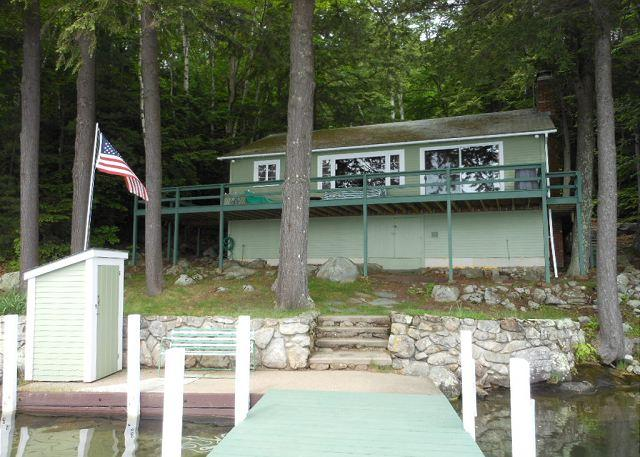 View of front of house from dock