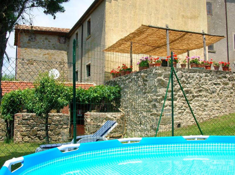 Casa Tersalle pool and terrace