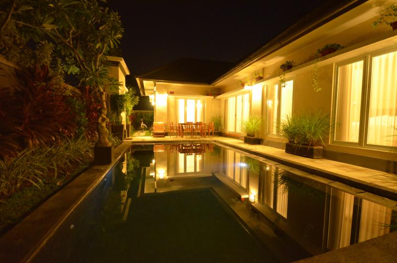 Swim under the stars and enjoy the Tranquillity of peace and quiet