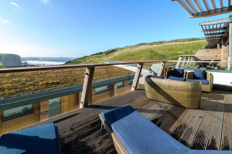 Balcony on Erney, The Village, Watergate Bay, Cornwall