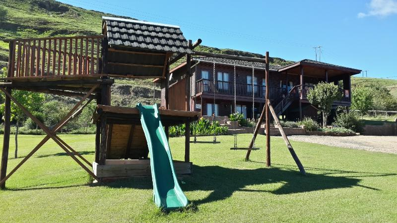 Bergview house and garden - perfect space for children and pets to run and have fun!