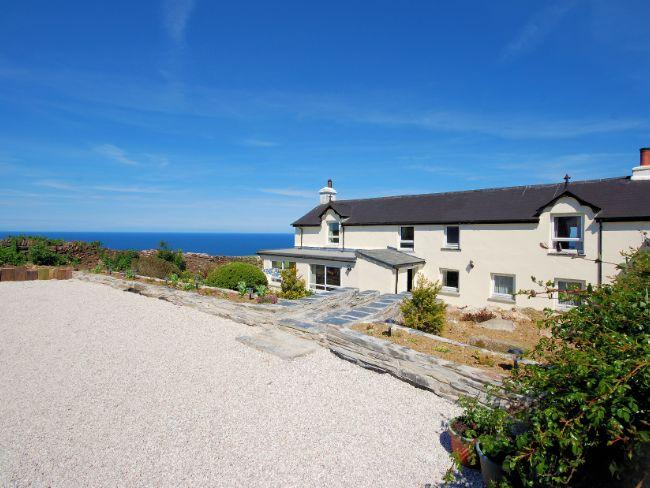 Sea views from the property