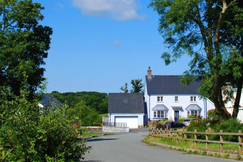 Luxurious spacious house for holidays in Cardiganshire
