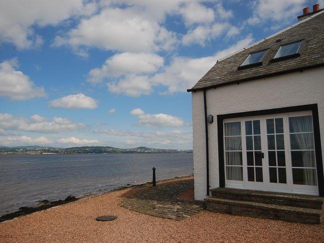 Looking towards the property with stunning views across the River Tay