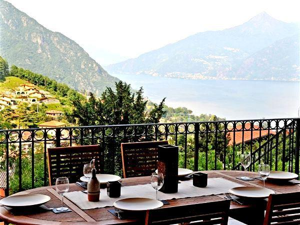 Fabulous views from the terrace of Menaggio Clubhouse