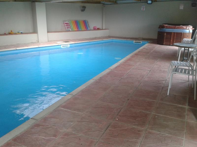 Indoor Swimming Pool for exclusive use.