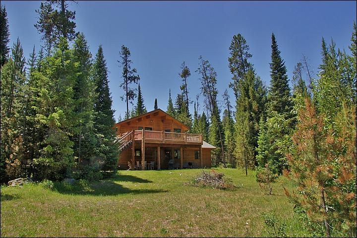 Private Home at the Base of the Teton Range in Wilson