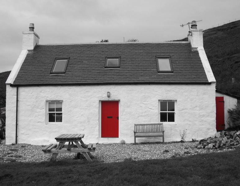 Front of The Old Croft House