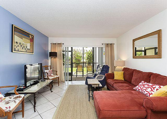 Relax and unwind in our garden view condo