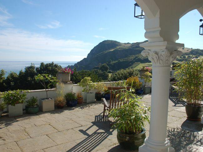 Relax on the private terrace and enjoy the seaviews