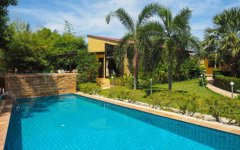 Exterior view. Swimming pool size 10M x 5M