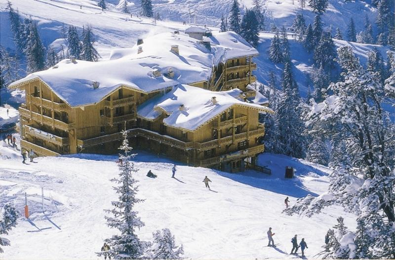 Chalet Chardon Belle Plagne, From the piste