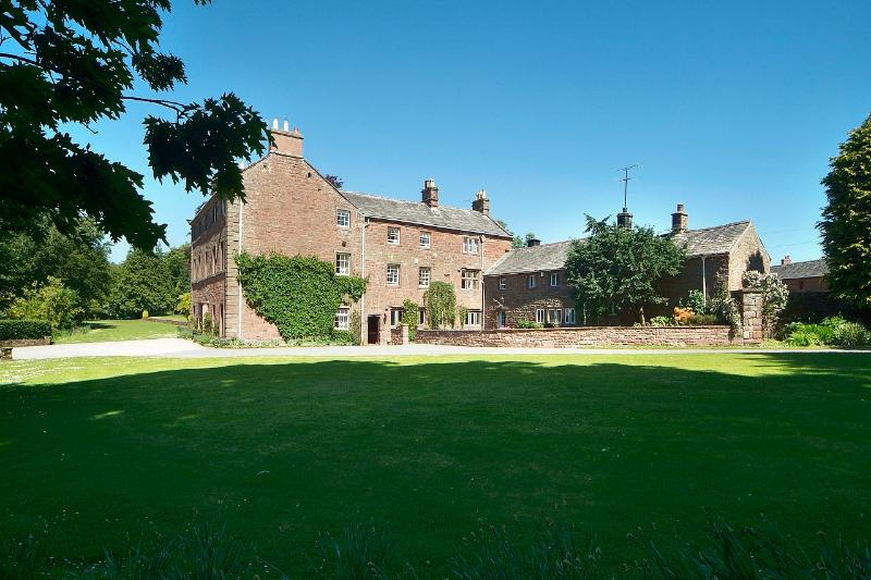 Melmerby Hall and Stag Cottage.  Stag Cottage has a private entrance, parking and gardens