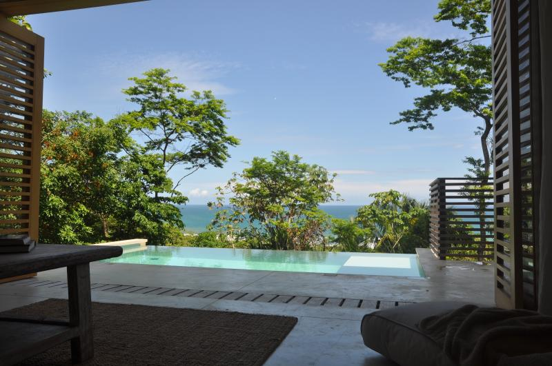 Villa Nicholson, view from the living room