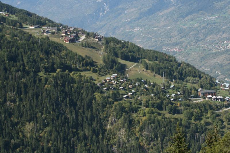 Les Coches and Montchavin villages, French Alpes