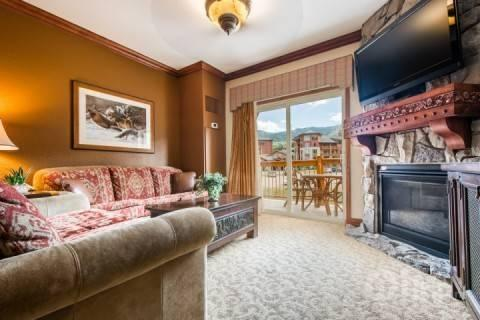 This Westgate condo is perfectly situated at the base of the Canyons Ski Resort in Park City, Utah for ski-in/ski-out access!