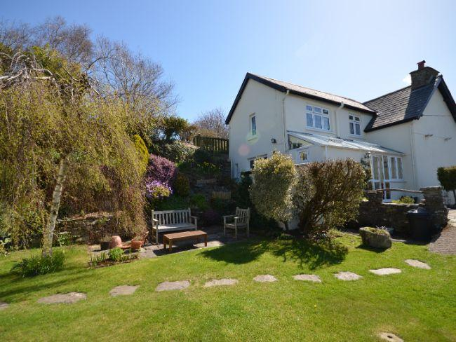 Relax in the garden with countryside views