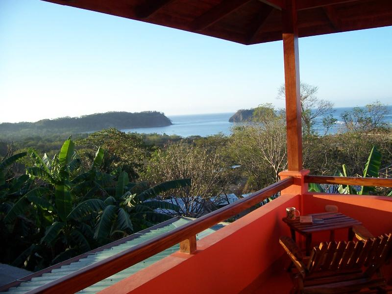 View of Samara Bay from private M. bedroom terrace.