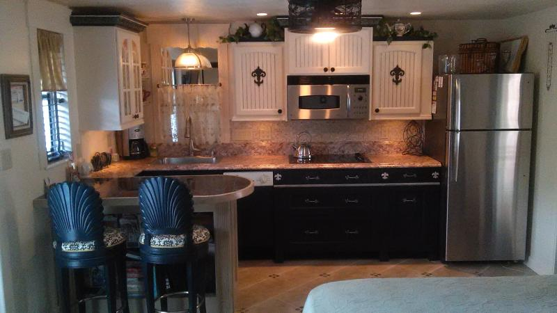 We love to give our guests the best we can ~ how about this gorgeous kitchen! And so much more