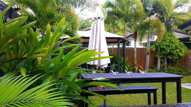 Relax in your own tropical gardens
