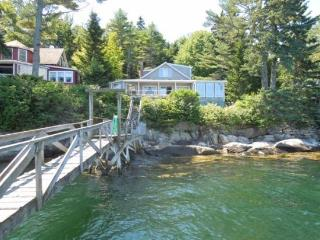 PINE CLIFF DWELLER| SOUTHPORT ISLAND | AMAZING OCEAN VIEWS| PRIVATE DOCK & FLOAT| COVERED & OPEN DECKS | ISLAND LIVING, Boothbay