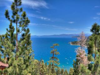 Handsome Zephyr Heights Home with Roof Top Deck Looking Over Lake Tahoe (ZH02) - Zephyr Cove vacation rentals