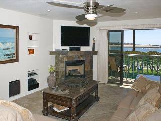 South Mission gem! Spacious 2nd floor condo with a large deck