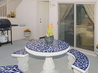 Deluxe  2BD/2.5BA townhome- fireplace, private patio, gas BBQ, w/d