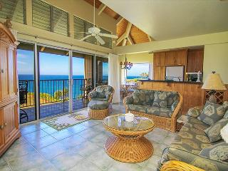 Pali Ke Kua #246: Ocean and sunset views from your own private lanai, Princeville
