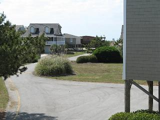 View to beach access from deck