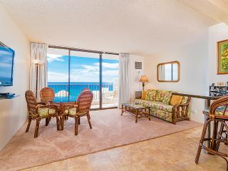 Waikiki Sunset #3606 - Ocean views - 1 bedroom, AC, WiFi, pool, parking. Close to beach. Sleeps 4. - Waikiki vacation rentals