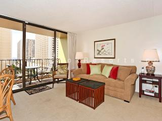 Waikiki Sunset #1004 - Ocean views - 1 bedroom, AC, WiFi, pool, parking. Close to beach. Sleeps 4. - Waikiki vacation rentals