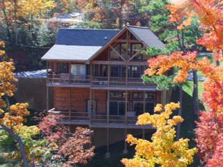 Gorgeous and Spacious Mountainside Lodge with Great Mountain Views!, Sevierville