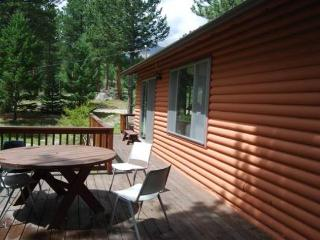 Enjoy the outdoors on the deck