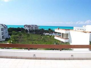 Beachfront San Francisco Beach.  Elevator. Private Rooftop Tub. Internet, Cozumel
