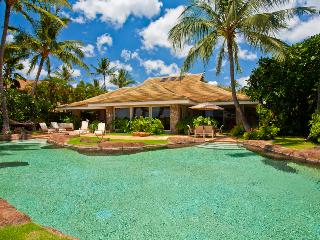 Lush Tropical Gardens with Lagoon Pool, Hot Tub, Ocean and Beach Front Setting