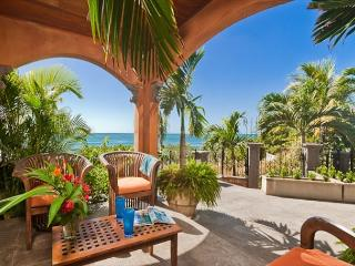 Relaxing beachfront home- internet, a/c, gas grill, full kitchen, wine cooler - Tamarindo vacation rentals