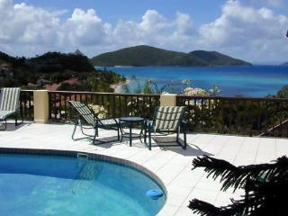2 minute walk to Mahoe Beach with private pool. 2 minute walk to tennis courts. VG SAT, Virgin Gorda