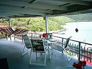 Unique view of North Sound and the Caribbean sea- a great 2-story villa!  VG VVA, Virgem Gorda
